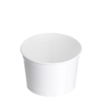 TYPE 450 520ml Ice Cream Cup - White